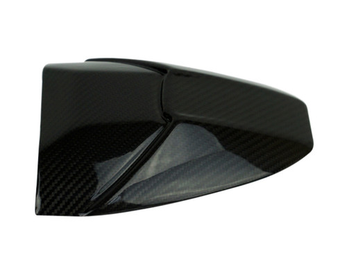 Rear Hugger Extension in Glossy Twill Weave shown  for BMW S1000RR, S1000R.