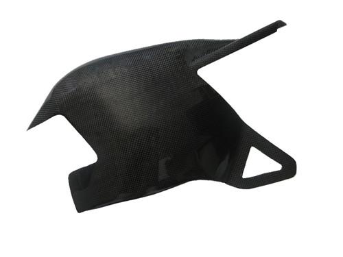 Swingarm cover for Ducati 1198,1098, 848 in Glossy Plain Weave Carbon Fiber