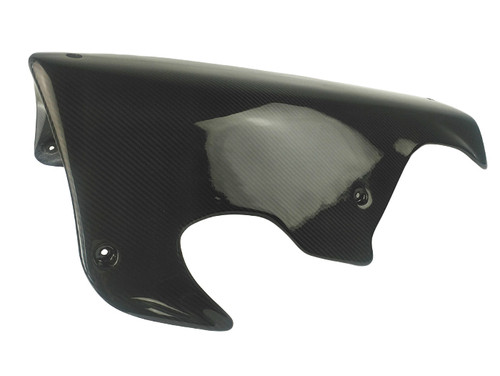 Belly Pan (Aftermarket) in Glossy Twill Weave 100% Carbon Fiber for Kawasaki H2