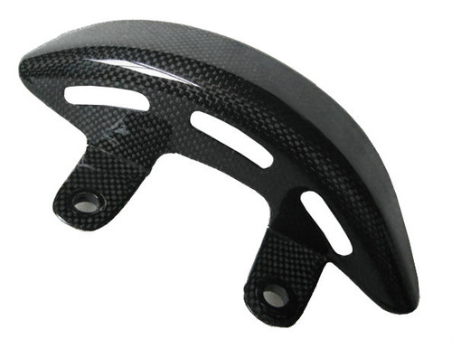 Glossy Plain Weave Carbon Fiber Belt Guard  for Ducati Diavel 2011-2014
