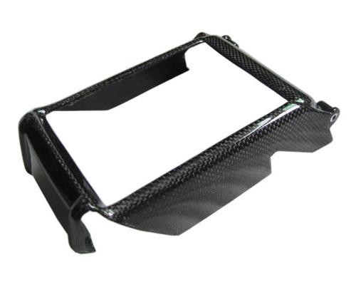 Glossy Plain Weave Carbon Fiber Radiator Cover for Ducati Monster 696, 796