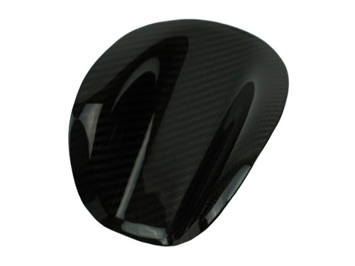 Key Guard in Glossy Twill Weave Carbon Fiber for Ducati Monster to 2007