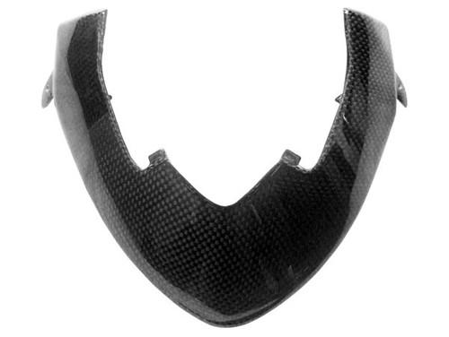 Cockpit Cover Frame for Ducati Streetfighter in Glossy Plain Weave Carbon Fiber
