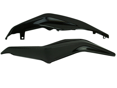 Tail Fairings in Glossy Twill Weave Carbon Fiber for Honda CB1000R 2018+