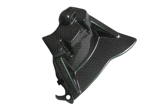 Sprocket Cover for Honda CBR 1000RR 08-16 in Glossy Plain Weave Carbon Fiber