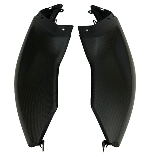 Tank Side Covers in 100% Carbon Fiber for Ducati Diavel 2019+