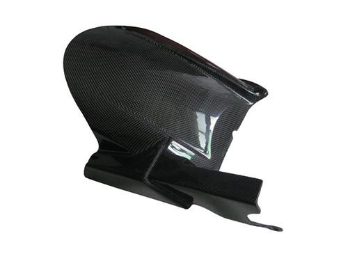 Glossy Plain Weave Carbon Fiber Rear Hugger for Yamaha MT-01 2006-2010