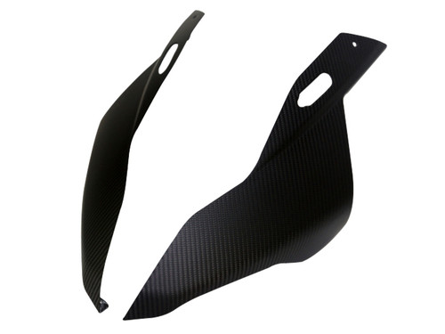 Front Fairing Sides in Matte Twill Weave Carbon Fiber for BMW S1000RR 2019+