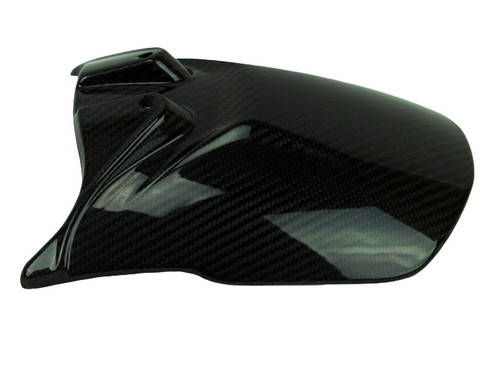 Rear Hugger in Glossy Twill Weave Carbon Fiber for KTM 790 Adventure