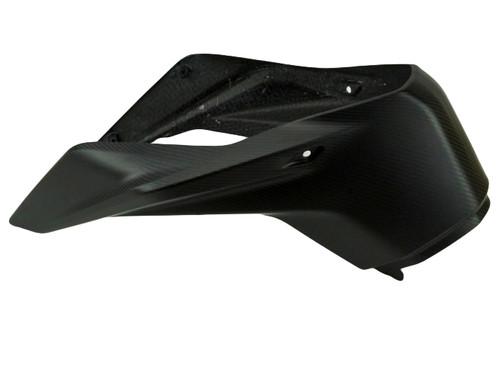 Front Tank Cover in Matte Twill Weave Carbon Fiber for KTM Duke 790, 890