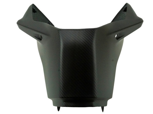 Front Tank Cover in Matte Twill Weave Carbon Fiber for KTM Duke 790