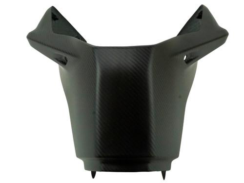 Front Tank Cover in Matte Twill Weave Carbon Fiber for KTM Duke 790