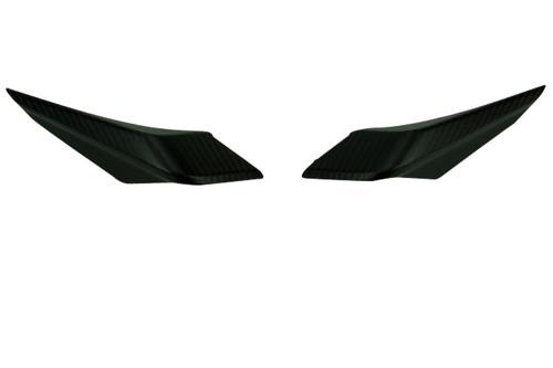 Small Side Panels in Glossy Twill Weave Carbon Fiber for KTM Duke 790, 890