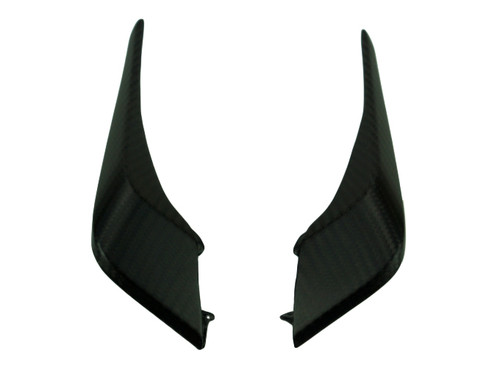 Small Side Panels in Glossy Twill Weave Carbon Fiber for KTM Duke 790