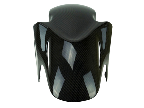 Front Fender in Glossy Twill Weave Carbon Fiber for Honda CBR500R, CB500F, CB500X 2015+