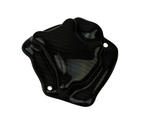Pickup Cover Cover (Kevlar inside) in Glossy Plain Weave Carbon Fiber for Yamaha R1 09-14