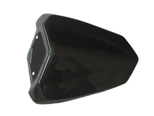Glossy Plain Weave Carbon Fiber Seat Cowl without Bottom Piece for Yamaha R1 09-14