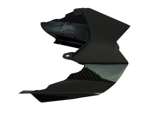 Tail Light  Surround in Glossy Twill Weave Carbon Fiber for Kawasaki H2 SX