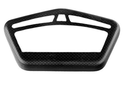 Cockpit Frame in Matte Plain Weave Carbon Fiber for Ducati Hypermotard 821 2013+
