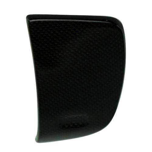 Dash Panel Media Door in Carbon with Fiberglass for Harley-Davidson FLH variants 2014+