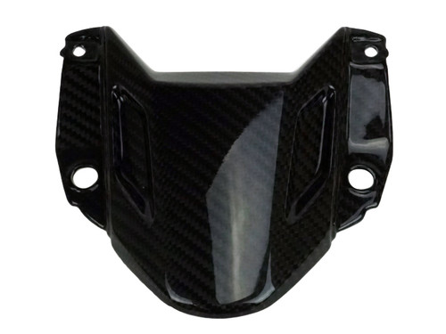Front Fairing Upper Part in Glossy Twill Weave 100% Carbon Fiber for Yamaha MT-07 2018+
