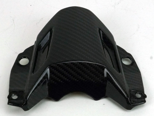 Front Fairing Upper Part in Glossy Twill Weave Carbon Fiber for Yamaha MT-07 2018+