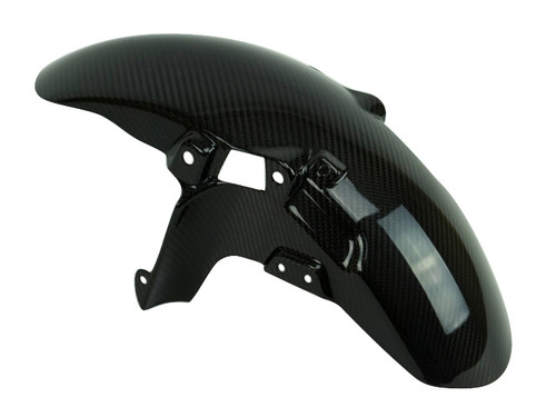 Front Fender in Glossy Twill Weave 100% Carbon Fiber for Yamaha XSR900