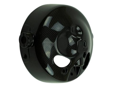 Headlight Bowl in Glossy Plain Weave 100% Carbon Fiber for Yamaha XSR900