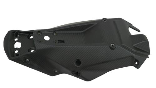Undertray in Matte Twill Weave Carbon Fiber for KTM 1290 Super Duke R 2020+