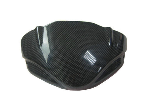 Windscreen for MV Agusta Brutale 2004-2009 in Glossy Plain Weave Carbon Fiber
