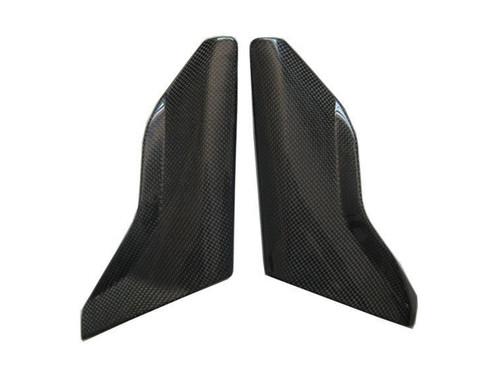 Glossy Plain Weave Carbon Fiber Side Covers for MV Agusta Brutale 2004-2009