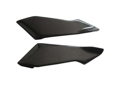 Glossy Plain Weave Carbon Fiber Small Tank Sides for MV Agusta Brutale 2004-2009