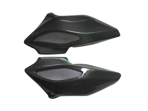 Glossy Plain Weave Carbon Fiber Airtake for MV Agusta Brutale  675/800 2013-2015, Dragster 2014-2017
