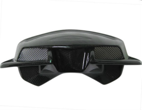 Glossy Plain Weave Windscreen for MV Agusta Brutale 675/800 2013-2015, front view