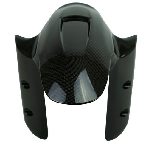 Front Fender in Glossy Plain Weave Carbon Fiber for Ducati Multistrada V4