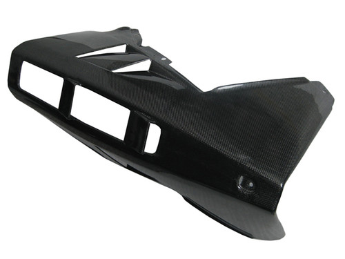 Glossy Plain Weave Carbon Fiber Belly Pan for MV Agusta F4 2010+