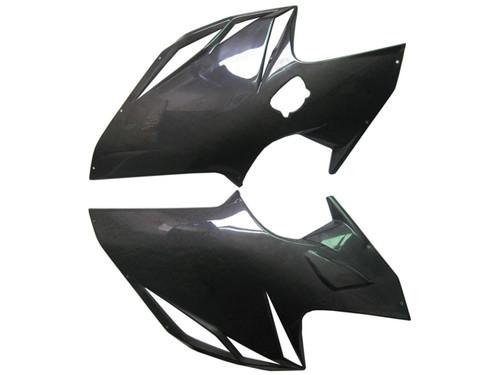 Glossy Plain Weave Carbon Fiber Side fairings for MV Agusta F4 2010+