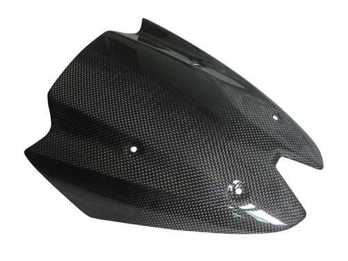 Glossy Plain Weave Carbon Fiber Windshield for Kawasaki Z 1000 2010-13