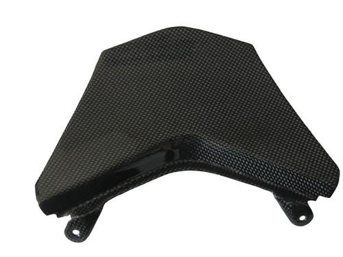 Glossy Plain Weave Carbon Fiber Rear Light Cover for Kawasaki ZX10R 08-09