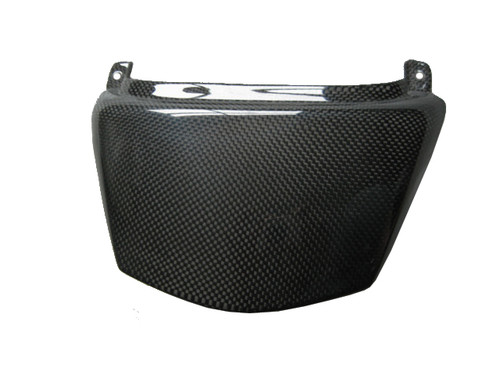Glossy Plain Weave Carbon Fiber Seat End for Kawasaki ZX14/ZZR1400 06+