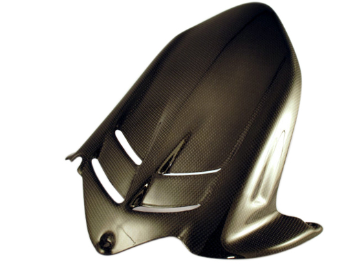 Rear Hugger for Kawasaki ZX6R 636 2009+ in Glossy Plain Weave Carbon Fiber