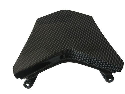 Glossy Plain Weave Carbon Fiber Rear Light Cover for Kawasaki ZX10R 08-09