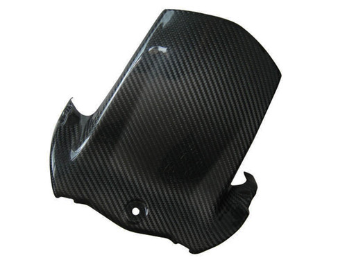 Glossy Twill Weave Carbon Fiber Rear Hugger for Suzuki B-King 07-12