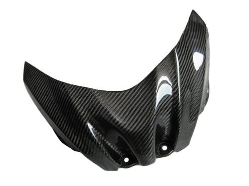Glossy Twill Weave Carbon Fiber Tank Cover for Suzuki GSXR 1000 09-16