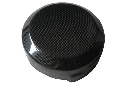 Glossy Plain Weave Carbon Fiber Clutch Cover for Suzuki B-King 07-12, GSX1300R Hayabusa