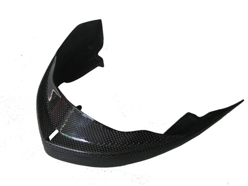 Glossy Plain Weave Carbon Fiber Head Light Cover for Suzuki B-King 07-12