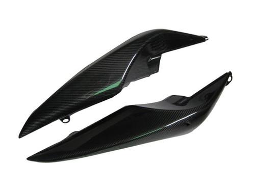 Glossy Twill Weave Carbon Fiber Tail Fairing for Suzuki B-King 07-12