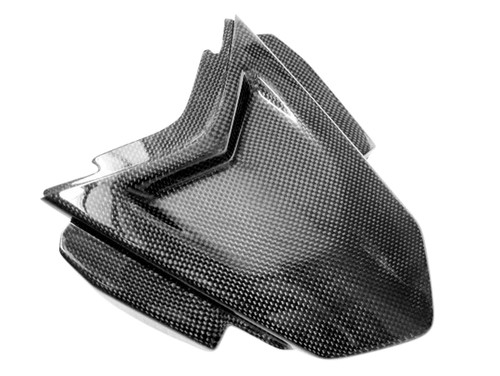 Tail Section Cover for Suzuki B-King 07-12 in Glossy Plain Weave Carbon Fiber
