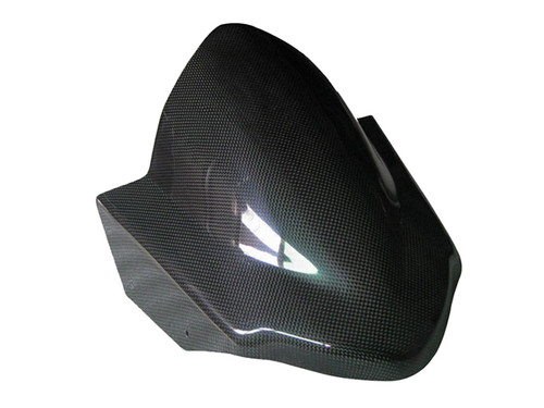 Glossy Plain Weave Carbon Fiber Windshield for Suzuki B-King 07-12