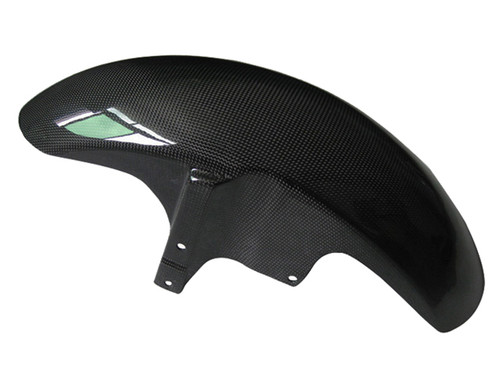 Glossy Plain Weave Carbon Fiber Front Fender for Yamaha MT-01 2006-2010